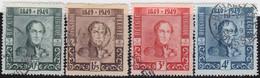 Belgie       .    OBP     .   807/810       .     O      .  Gebruikt     .   /   .  Oblitéré - Used Stamps