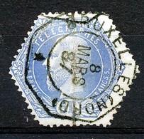 """BELGIE - OBP Nr TG 7  - """"BRUXELLES (NORD)"""" - Telegraafzegels"""