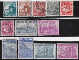 Belgie       .    OBP     .   761/772       .     O   En   *     .  Gebruikt  En Ongebruikt - Used Stamps