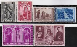 Belgie       .    OBP     .   513/518     .     *    .   Ongebruikt   .   /   .   Neuf Avec Charnière - Unused Stamps