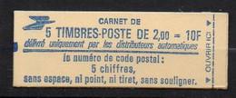 Carnet YT N° 2274 C1 ** Fermé Cote 28 Euros - Usados Corriente