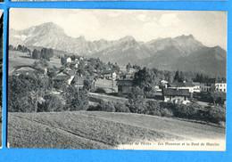 COVR1295, Village De Villars Sur Ollon, Les Muveran Et La Dent De Morcles, E. Rossier, Non Circulée - VD Vaud
