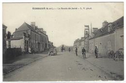 ECHEMIRE (49) - La Route De Jarzé - Ed. L. V. - Other Municipalities