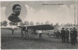 CPA - AVIATION FRANCAISE - KULHING SUR MONOPLAN BLERIOT - VOL à MAURIAC - CANTAL 15 - - Aviateurs