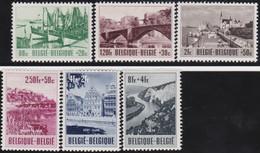 Belgie       .    OBP     .    918/923    .    *     .  Ongebruikt     .   /   .   Neuf Avec  Charnière - Unused Stamps