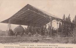 07 LE POUZIN CONSTRUCTIONS INDUSTRIELLES HUGUENIN LOUIS - Le Pouzin