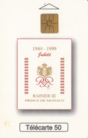 PHONE CARD MONACO  (E64.8.1 - Mónaco