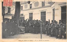 Thème Sport:   Jeu De La Grenouille   Angers  49     Salle De Repos Du Soldat  N° 8   ( Voir Scan) - Altri