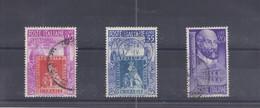 Italien - Selt./gest. Lot Aus 1949/50 - Michel 781 Und 826/27! - 1946-60: Usati