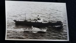 PHOTO BATEAU VC 7 P 757 GENRE VEDETTE FORMAT CPA ANCIEN  SERVICE PHOTO DES ARMEES CROISANT AUTRE BATEAU - Barcos