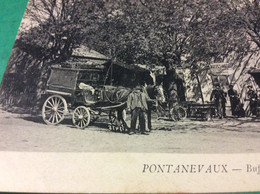 ♥️ PONTANEVAUX. Buffet Hôtel  Attelage - Frankreich