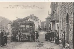 07 MONTPEZAT AUTOBUS DU VIVARAIS POUR St CIRGUES EN MONTAGNE - Sonstige Gemeinden