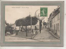 CPA - (91) SAINT-CHERON - Aspect De La Petite Place De La Rue Des Mares En 1913 - Saint Cheron