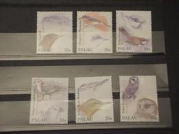 PALAU - 2000 UCCELLI  6 VALORI - NUOVI(++) - Palau