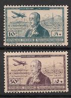 Syrie - 1942 - Poste Aérienne PA N°Yv. 94 à 95 - Indépendance - Neuf Luxe ** / MNH / Postfrisch - Syria (1919-1945)