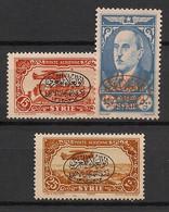 Syrie - 1944 - Poste Aérienne PA N°Yv. 112 à 114 - Congrès De Philosophie - Neuf Luxe ** / MNH / Postfrisch - Syria (1919-1945)