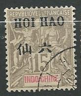 HOI - HAO   - Yvert N° 21 Oblitéré -  Ad 41208 - Usados