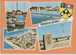 14 COURSEULLES SUR MER ... Multivues (circulée En 1972) - Courseulles-sur-Mer