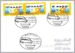 Join The EURO EXPRESS - Deutsche Post. Bielefeld 2000 - Post