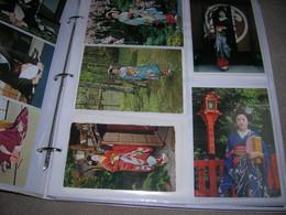 + De 680 Carte Postale Cpsm Cpm Japon Japan Dans 2 Album SUPERBE LOT - Non Classificati