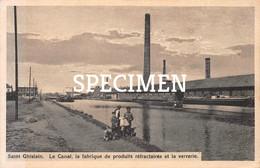 Le Canal La Fabrique De Produits Réfractaires Et La Verrerie - Saint-Ghislain - Saint-Ghislain