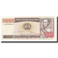 Billet, Bolivie, 5000 Pesos Bolivianos, D.1984, 1984-02-10, KM:168a, NEUF - Bolivia