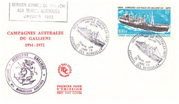 TAAF TERRE ADELIE KERGUELEN 3 COURRIERS - French Southern And Antarctic Territories (TAAF)