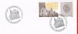 France. Poitiers. 2007. 80ème Congrès De La FFAP - Commemorative Postmarks