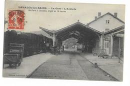 34 - AMADOU - LES - BAINS : LA GARE  - L'ARRIVEE . - Andere Gemeenten