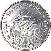 Monnaie, États De L'Afrique équatoriale, 100 Francs, 1966, Paris, ESSAI, FDC - Gabon