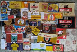 Biere Etiquette Bieretiketten Beer Label Belgium Lot 002 - Bier