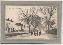 CPA - (81) GAILLAC - Aspect De La Traversée Du Bourg Par La Route D'Albi Au Début Du Siècle - Gaillac