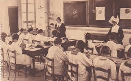 Beroepsschool - Mortsel - Modeklas - Voorkant -Ecole Professionnelle-Mortsel-Classe De Modes-Face - Mortsel