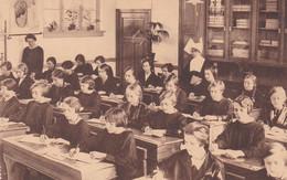 Beroepsschool - Mortsel - Studieklas I - Achterkant -Ecole Professionnelle-Mortsel-Classe D'étude I - Fond - Mortsel
