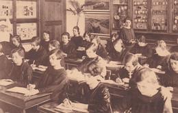 Beroepsschool - Mortsel - Studieklas II - Achterkant -Ecole Professionnelle-Mortsel-Classe D'étude II - Fond - Mortsel