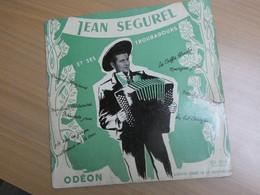 33 1/3 TOURS. JEAN SEGUREL. - Vinyl-Schallplatten