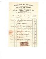 MEREVILLE (Seine Et Oise) - Réparation De BICYCLETTES ET ACCESSOIRES - Articcles De Chasse - A.CHARRIER - Straßenhandel Und Kleingewerbe
