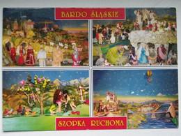 Crib / Bardo Slaskie Church /  Movable Nativity Scene / Polish Postcard - Andere