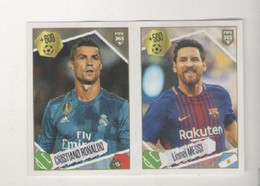 CRISTIANO RONALDO E LIONEL MESSI....CALCIO....CHAMPIONS....MUNDIAL...SOCCER...WORLD CUP....FIFA....FOOTBALL - Trading Cards