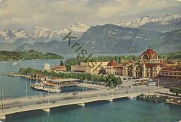 Luzern - Bahnhof Mit Kunst- Und Kongresshaus [Z33 1.490 - Sin Clasificación