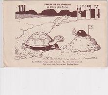 LE LIEVRE ET LA TORTUE        RABIER      GOUDRON GUYOT - Rabier, B.