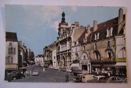 Chaumont - La Caisse D'Epargne - Pharmacie Centrale & Autres Commerces - Automobiles - CPSM PF - Chaumont