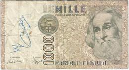 Italia - Italy 1.000 Lire 6-1-1982 Pk 109b Ref 1590-2 - 1000 Liras