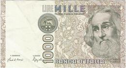 Italia - Italy 1.000 Lire 6-1-1982 Pk 109b Ref 1590-8 - 1000 Liras