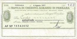 Italia - Italy 100 Lire 4-8-1977 Bologna Ref 3975-2 - 1000 Liras