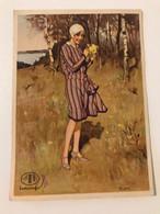 "Carte Postale Ancienne LE BLANC DU ""Bon Marché""  Indanthrem - Werbepostkarten"
