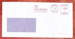 Brief, Francotyp-Postalia B23-8482, Haver & Boecker Drahtweberei, 80 Pfg, Oelde 1989 (98019) - Marcofilie - EMA (Printmachine)