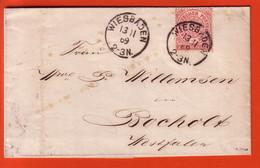 Lettre Du 13.11.1869 - North German Conf.