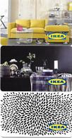 @+ Cartes Cadeau - Gift Cards : Lot De 3 Cartes IKEA Datées 2015 à 2017 - Frankreich