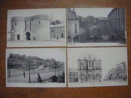 France - Nord (59) - Lot De 7 Cartes De CAMBRAI (Porte De Paris/Caserne Cantimpré/Citadelle/Porte ND/Beffroi/Cathédrale/ - Cambrai